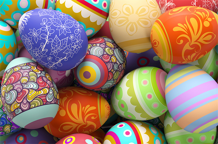 Easter Week Services & Egg Hunt